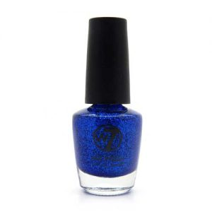 W7 Nagellak #003 - Blue Dazzle