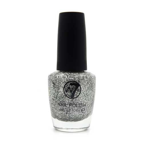 W7 Nagellak #005 - Silver Dazzle