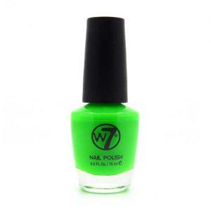 W7 Nagellak #012 - Fluorescent Green