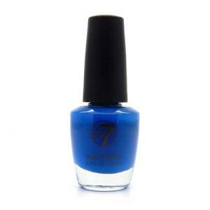 W7 Nagellak #017 - Fluorescent Blue