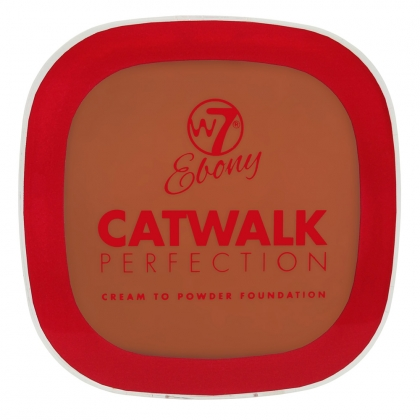 W7 Catwalk Perfection Foundation Ebony Mocha 4
