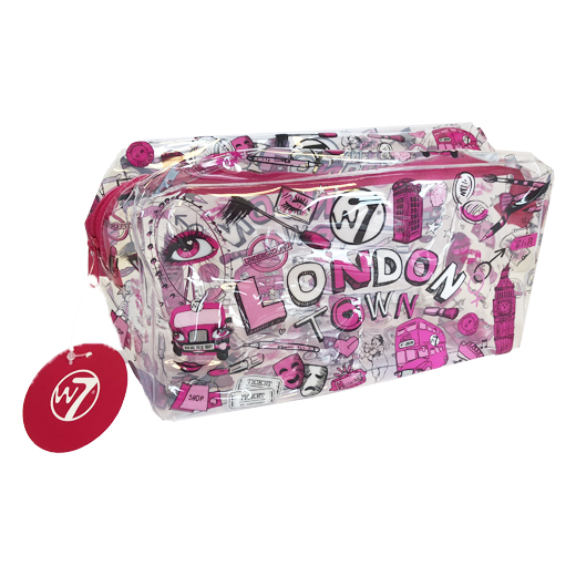 W7 Transparent London town bag
