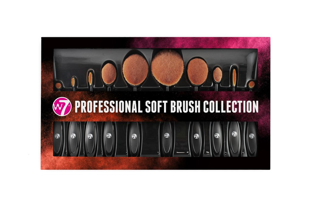 W7 Professionele Soft Brush Set - 10 stuks