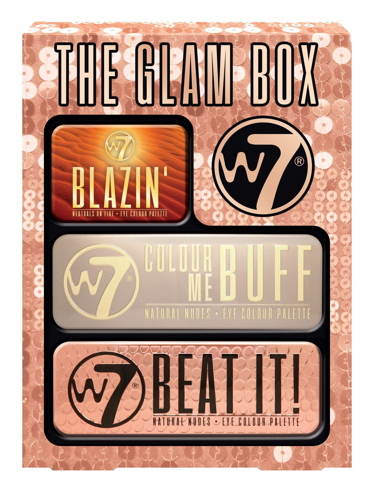 Glam Box Eye Tin set