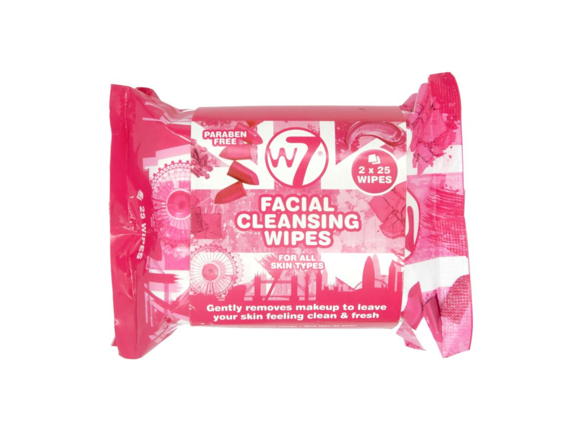 W7 Facial Cleansing Wipes