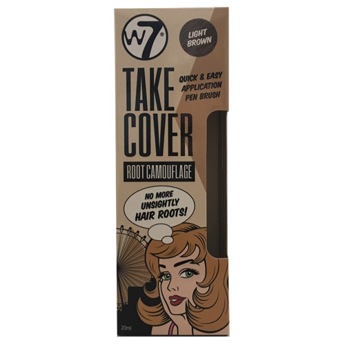 W7 Take Cover Root Camouflage Pen - Light Brown