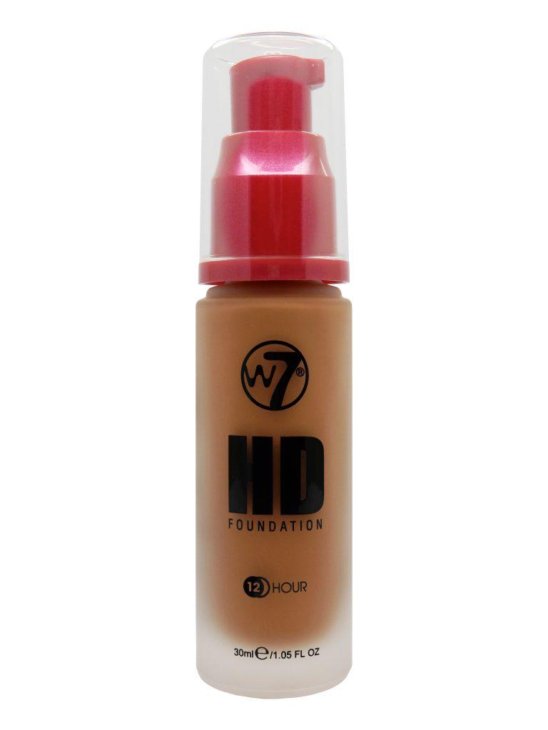 W7 HD Foundation - Caramel