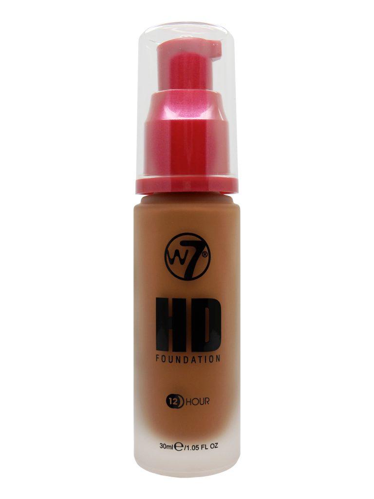 W7 HD Foundation - Hazelnut