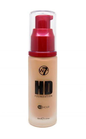 W7 HD foundation - Natural Beige