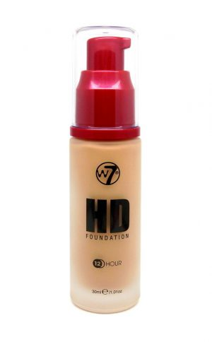 W7 HD foundation - Natural Beige [CLONE] [CLONE] [CLONE]