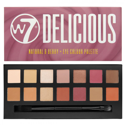 W7 Delicious eyeshadow pallet