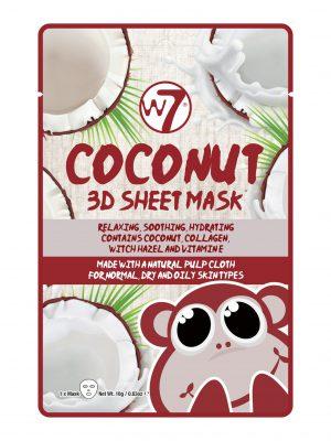 W7 Coconut 3D Sheet Face Mask